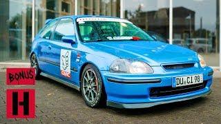Lightweight Honda Civic EK Track Monster!
