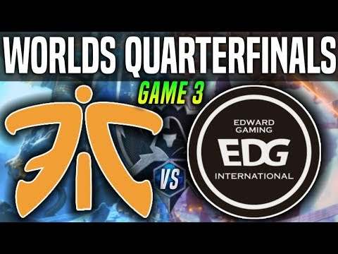 Fnatic  vs Edward Gaming vod