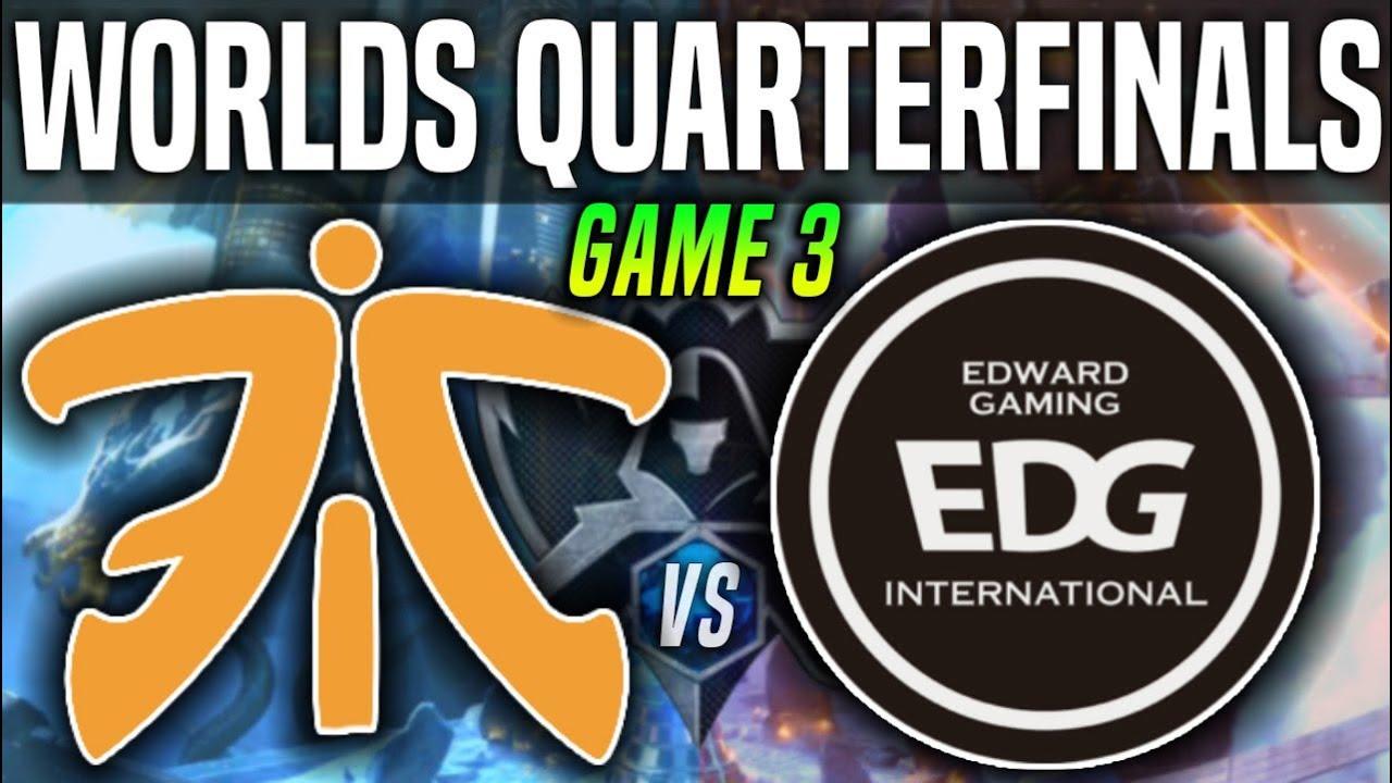 Fnatic Vs Edward Gaming