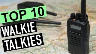 BEST 10: Walkie Talkies 2018