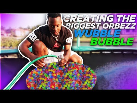 GIANT ORBEEZ WATER BALLOON? GUESS WHAT HAPPENS NEXT 😱