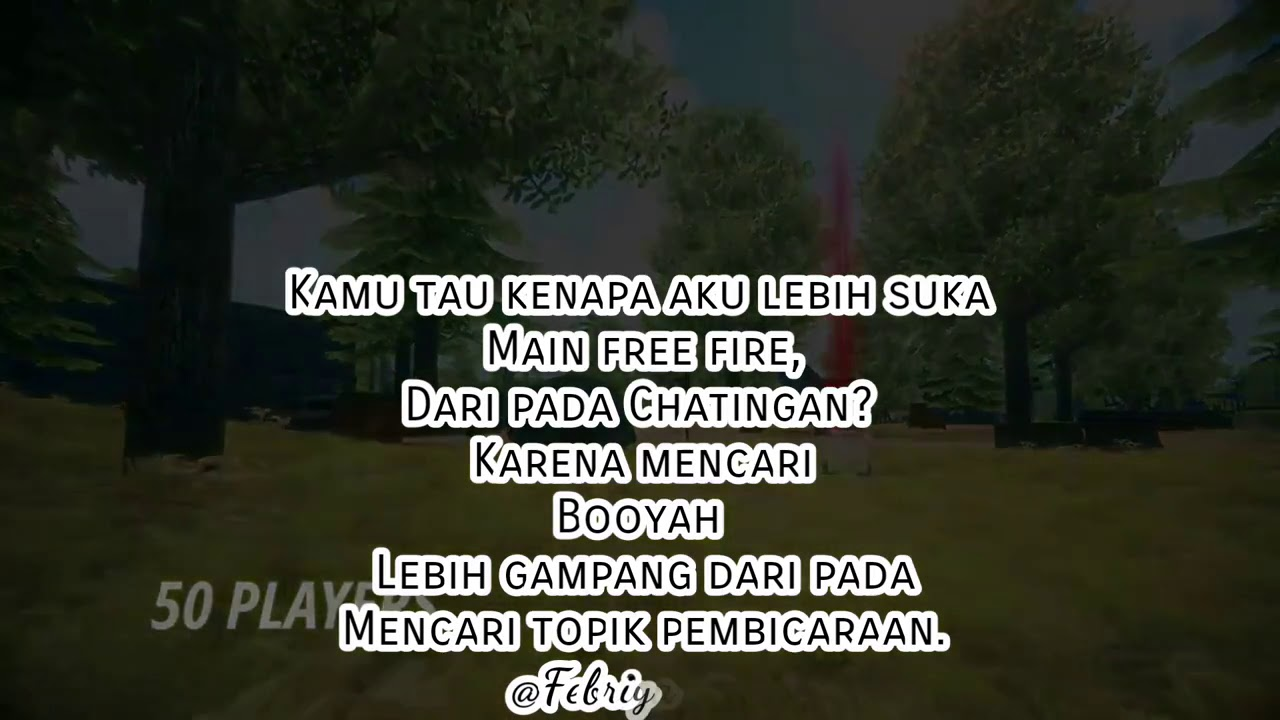 Vidio Kata Kata Free Fire Bijak Youtube