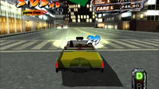 Crazy Taxi 3 gameplay (PC)