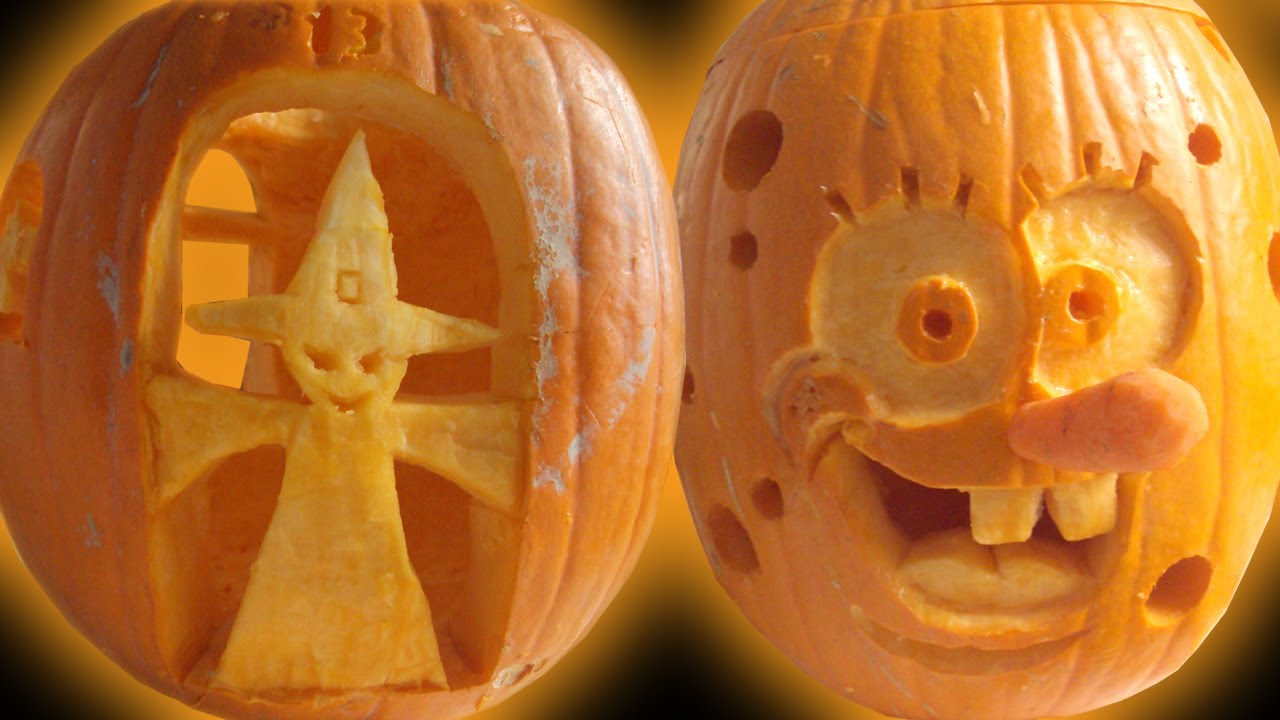 Halloween Pumpkin Carving Ideas   YouTube Part 88