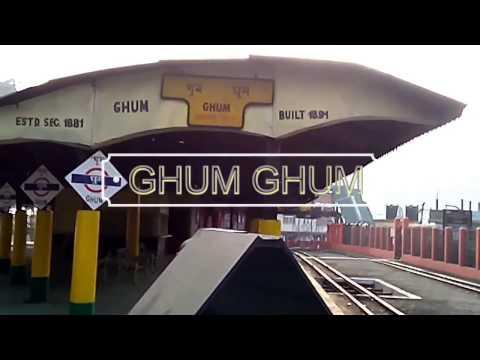 Ghum Ghum Darjeeling Himalayan Railway is the Highest Railway Station in India