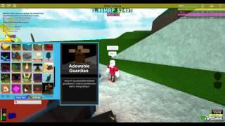 ROBLOX MINERS HAVEN ADOWABLE GUARDIAN REVIEW