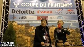 坂本花織 / Kaori Sakamoto - Coupe Du Printemps SP from March 16, 2018 - Luxembourg 坂本花織 検索動画 23