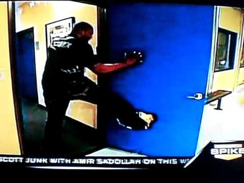 Rampage Jackson Destroyed Door Youtube