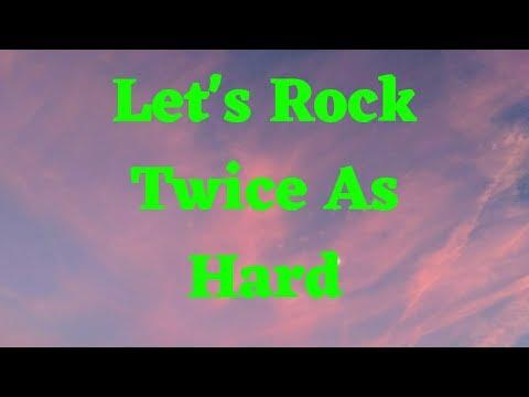 Let's Rock Twice As Hard 🎶#HappyNewYear #heavymetal