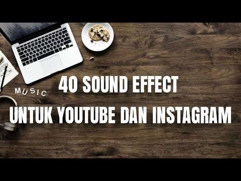 40 FREE SOUND EFFECT UNTUK YOUTUBE DAN INSTAGRAM