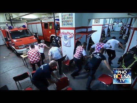 Tinh thần trách nhiệm của đội lính cứu hỏa Croatia