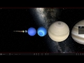 Size Comparison of moons, planets, stars, and galaxies V2