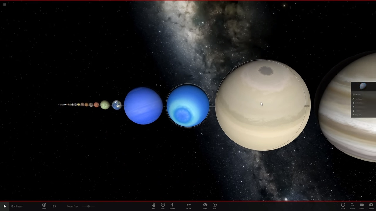 Size Comparison of moons, planets, stars, and galaxies V2 ...