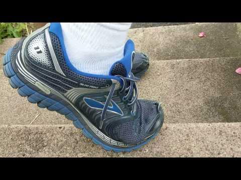 Abusing My Brooks Glycerin Running Shoes With Concrete Steps!