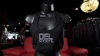 7d6b7b408ca DEL Records Store - Del Sports Logo Sports Bra - Duration  19 seconds.
