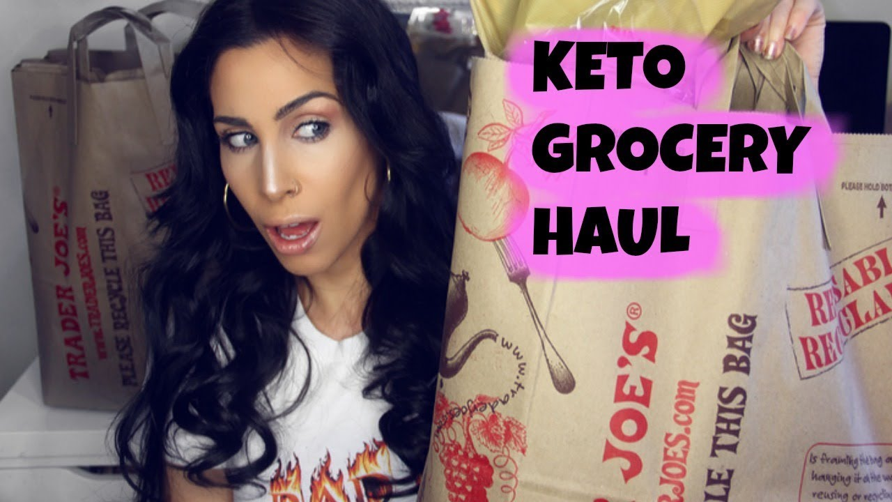 Keto Grocery Haul | Food Shopping for Ketogenic Diet First Time! - YouTube