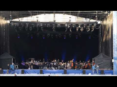 The TV&Radio Symphony Orchestra of Saint-Petersburg performing with Sting!.wmv