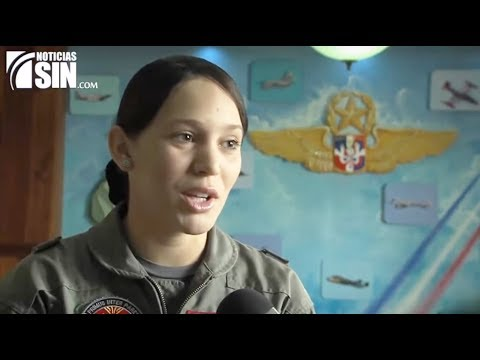 Dominican Republic news today 2018 - Dominican women in Military, Air force combat pilot