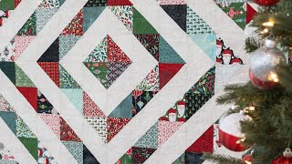 Tips for Making Half Square Triangles + FREE Quilt Pattern | a Shabby Fabrics Tutorial