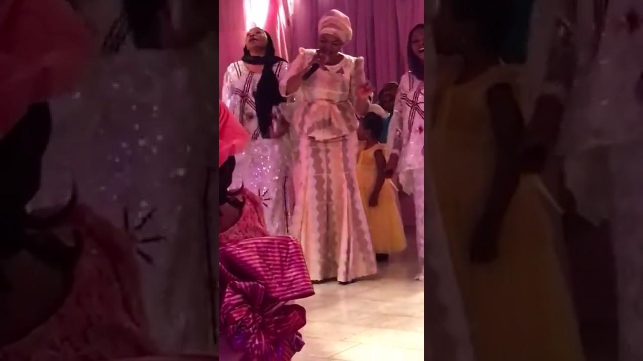 Download Video of Zahra Buhari, President Buhari daughter;s wedding