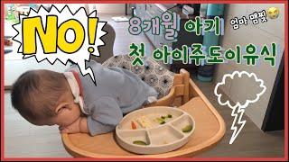 [건우세끼] 8개월아기 첫 아이주도이유식 | 채소스틱 …