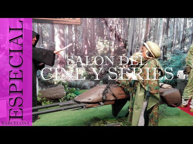 Salon del cine y series LA FARGA 2016 Barcelona