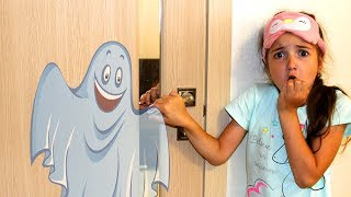 Masha and funny story by kids in bedroom
