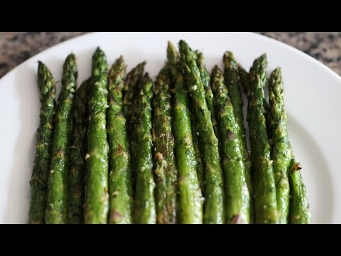 Oven Roasted Asparagus With Gremolata
