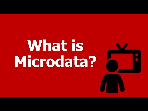 HTML5 Microdata Markup and the SEO Impact: What is Microdata?