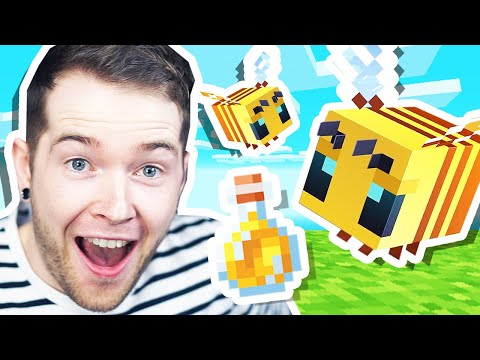 I Found BEES & HONEY in Minecraft Hardcore!