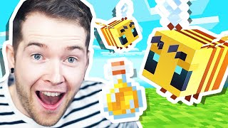 I Found BEES & HONEY in Minecraft Hardcore!