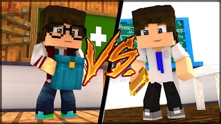 MINECRAFT: RICO VS POBRE NA ESCOLA (MACHINIMA)