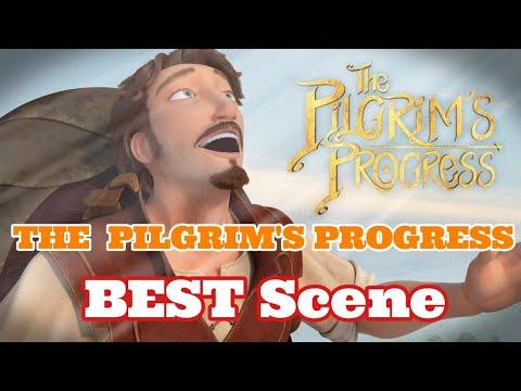 The Pilgrim's Progress New Animated Movie -  Hill of Salvation Scene