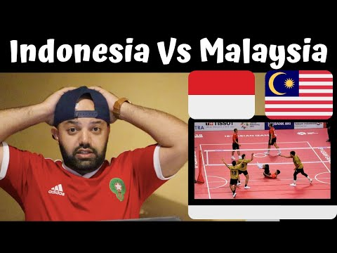 Epic comeback by Malaysian sepak takraw team against Indonesia🔥 - Reaction (BEST REACTION)