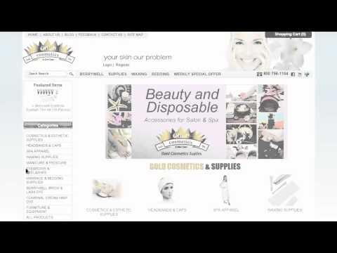 Gold Cosmetics & Supplies - Disposable & Non Disposable Accessories For Salon And Spa