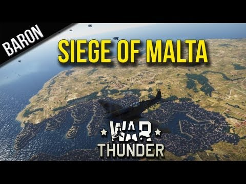 War Thunder Event Gameplay - Siege of Malta