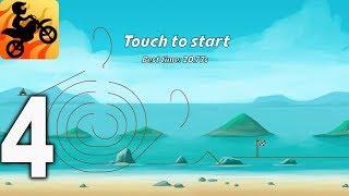 Bike Race Free - Top Motorcycle Racing Games - Beach Gameplay Walkthrough Part 4  Ios, Android