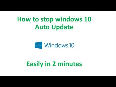 How to stop windows 10 auto update easily in 2 minutes || Let's Learn