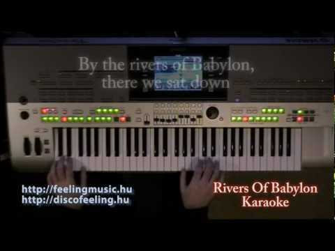 Rivers Of Babylon - Karaoke, lyrics