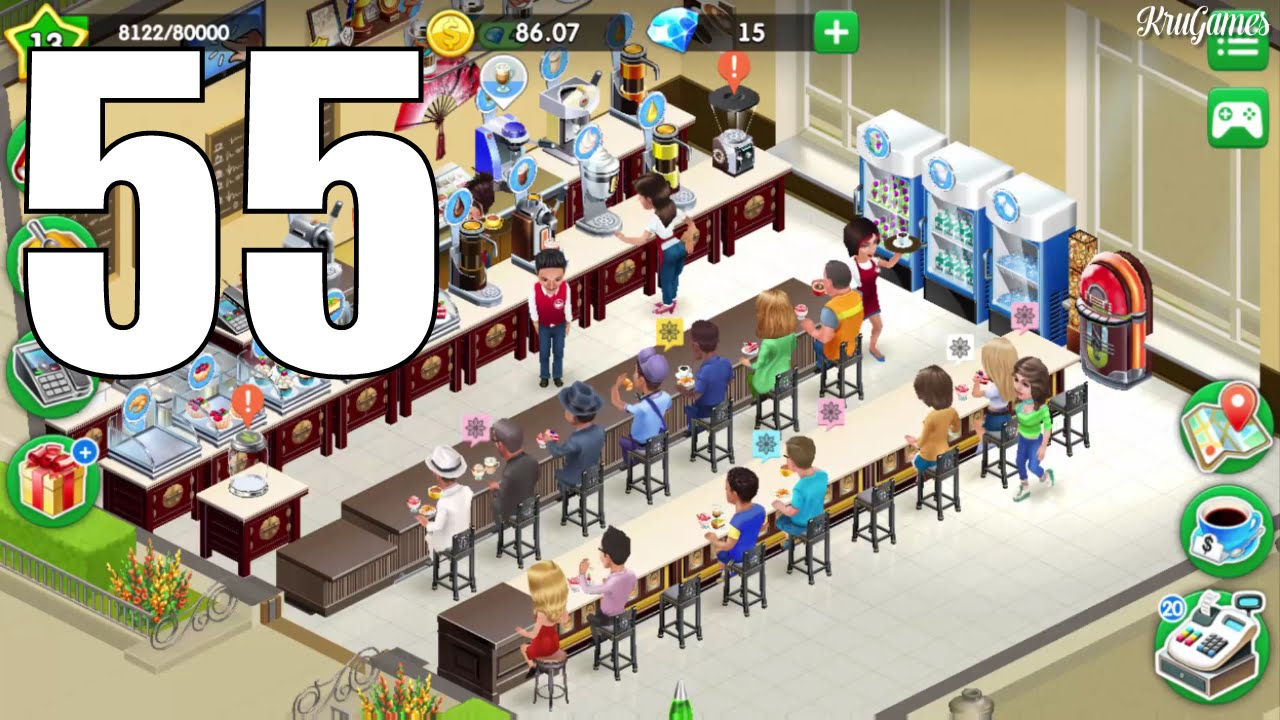 my cafe recipes stories android gameplay 55 level 13 youtube. Black Bedroom Furniture Sets. Home Design Ideas
