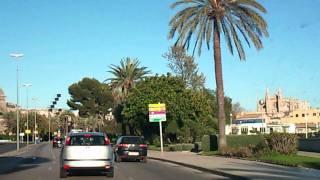 Driving Palma Mallorca Coast
