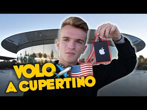 VOLO A CUPERTINO DA APPLE [Parte 1/2]