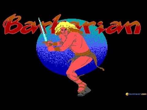 Barbarian: The Ultimate Warrior gameplay (PC Game, 1989)