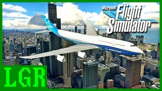 LGR - Flight Simulator 2020 Review (Video Game Video Review)