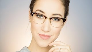 EVERYDAY MAKEUP FOR GLASSES   ALLIE G BEAUTY