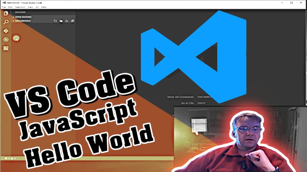 Visual Studio Code: Javascript, Node js Hello World