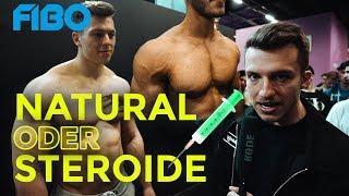 Natural Bodybuilder rät wer auf Stoff ist | FIBO Edition (Mit Paul Unterleitner, Phillip Zwoll uvm.)