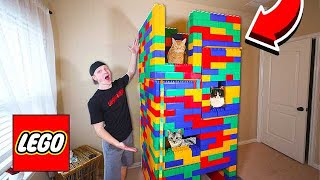 5 story lego mansion for my cats - zazinombies lego fortnite