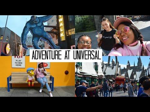 VLOG LA: ADVENTURES IN UNIVERSAL STUDIO & THEME PARK