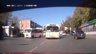 Пришибленный автобус